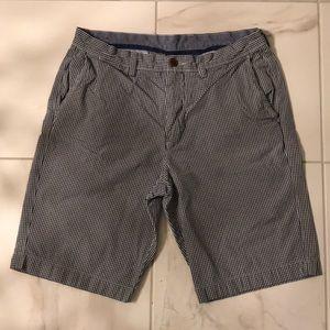 J. Crew Shorts - J. Crew navy and white check 33